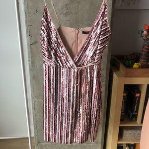BRAND NEW! BCBG sequined dress